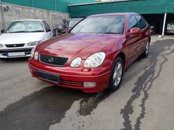 Lexus GS300 Red 01