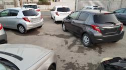 Toyota Vitz White All