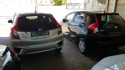 Honda Fit Silver Metallic 05