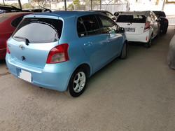 Toyota Vitz Light Blue 03