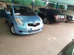 Toyota Vitz Light Blue 01