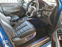 Mitsubishi L200 Double Cab Blue 11