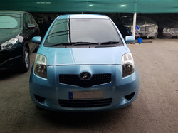 Toyota Vitz Light Blue 02