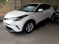 Toyota CHR Hybrid 2017 White Pearl