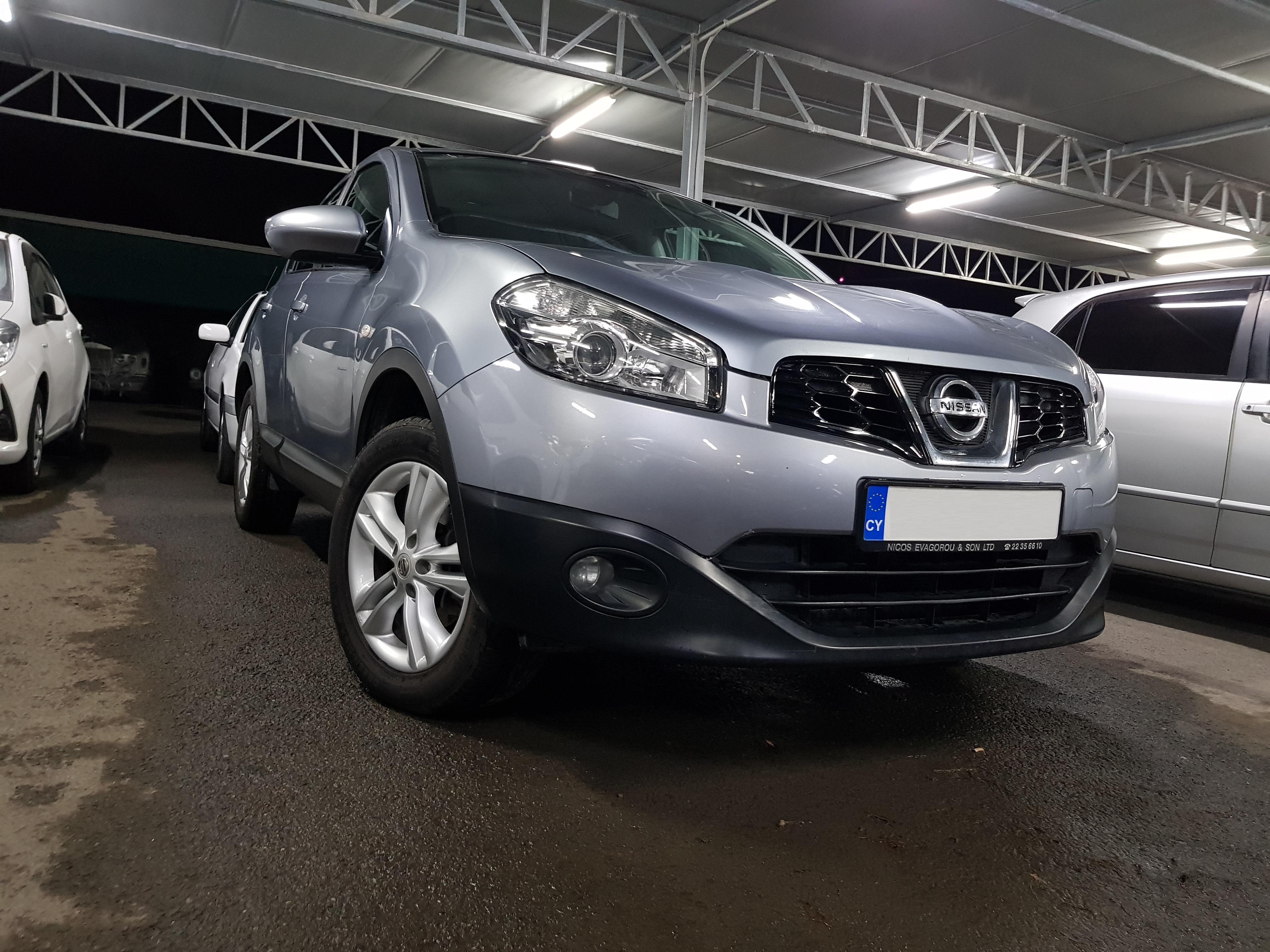 Nissan Qashqai Light Grey 03