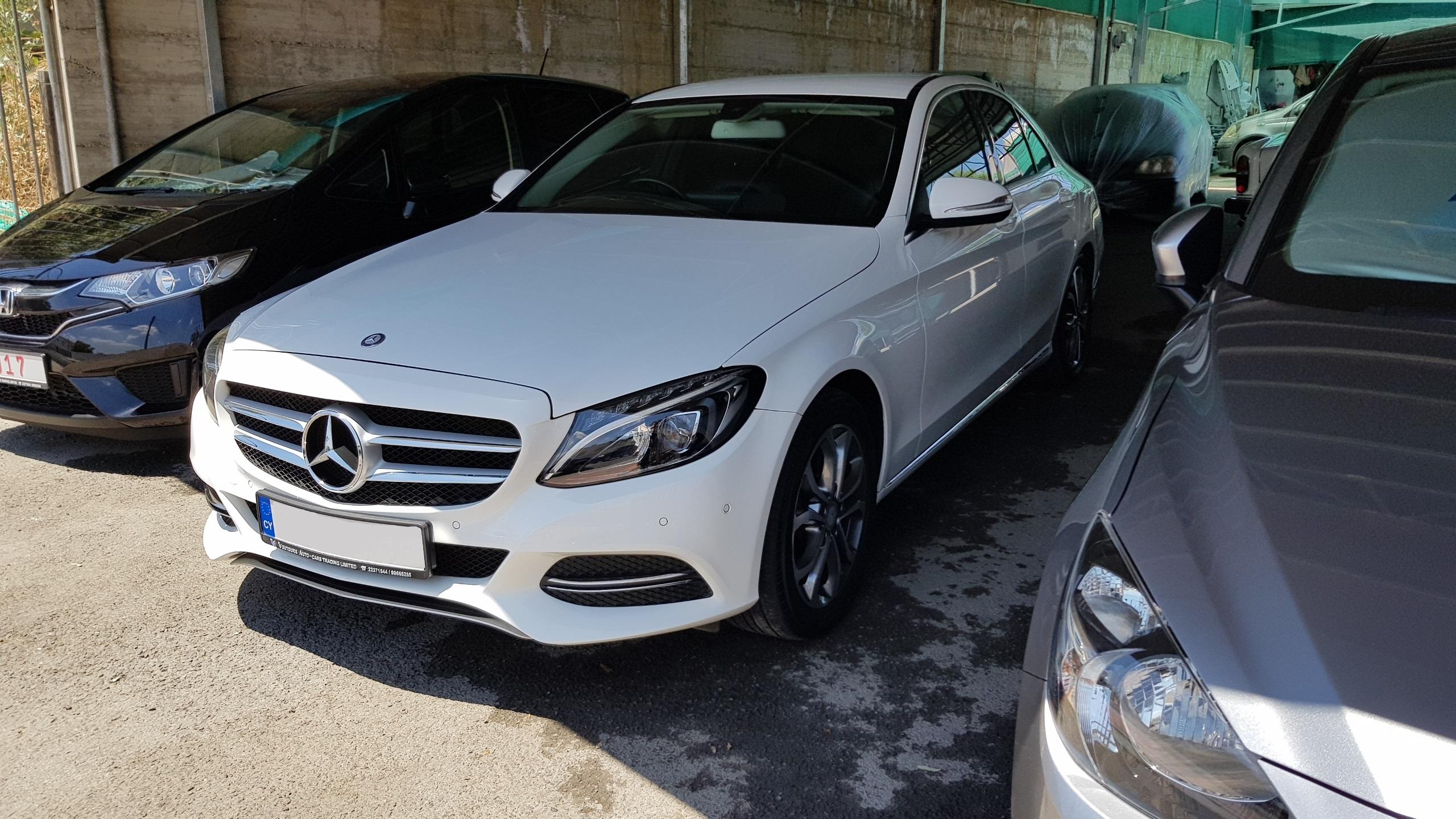 Mercedes C220 CDI White 03