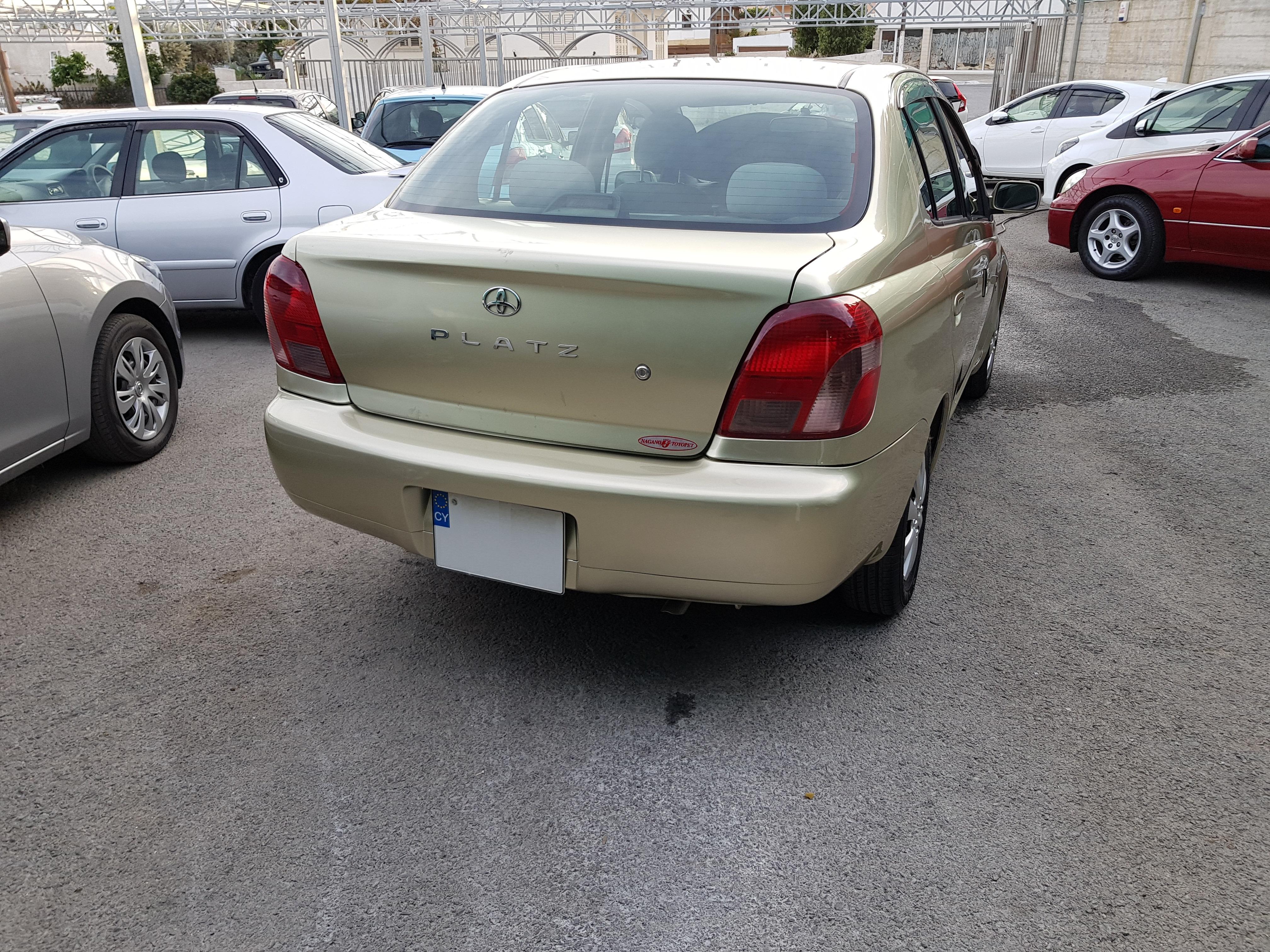 Toyota Platz Champagne Gold 02