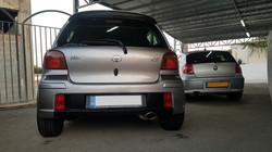 Toyota Vitz Light Grey 05