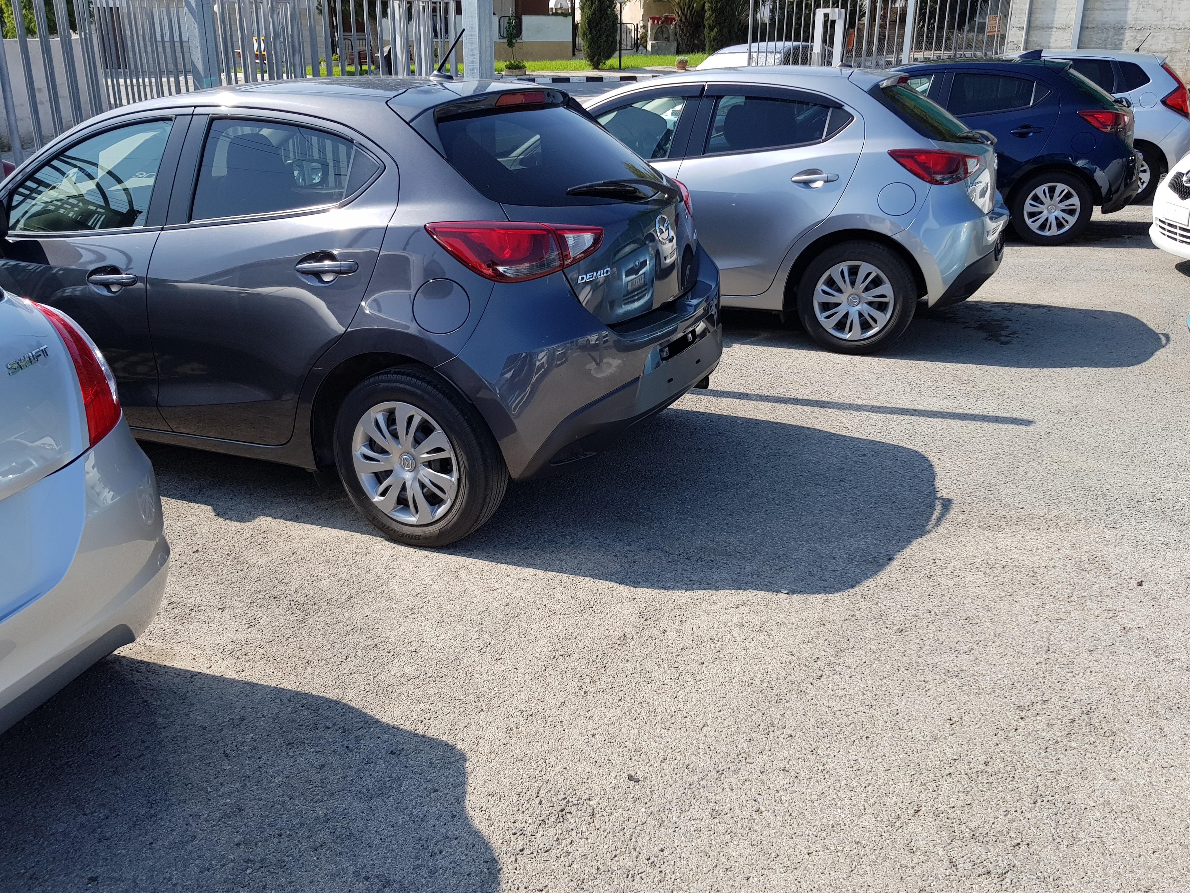 Mazda Demio Dark Blue 03