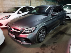 Mercedes C300 2018 Grey 02