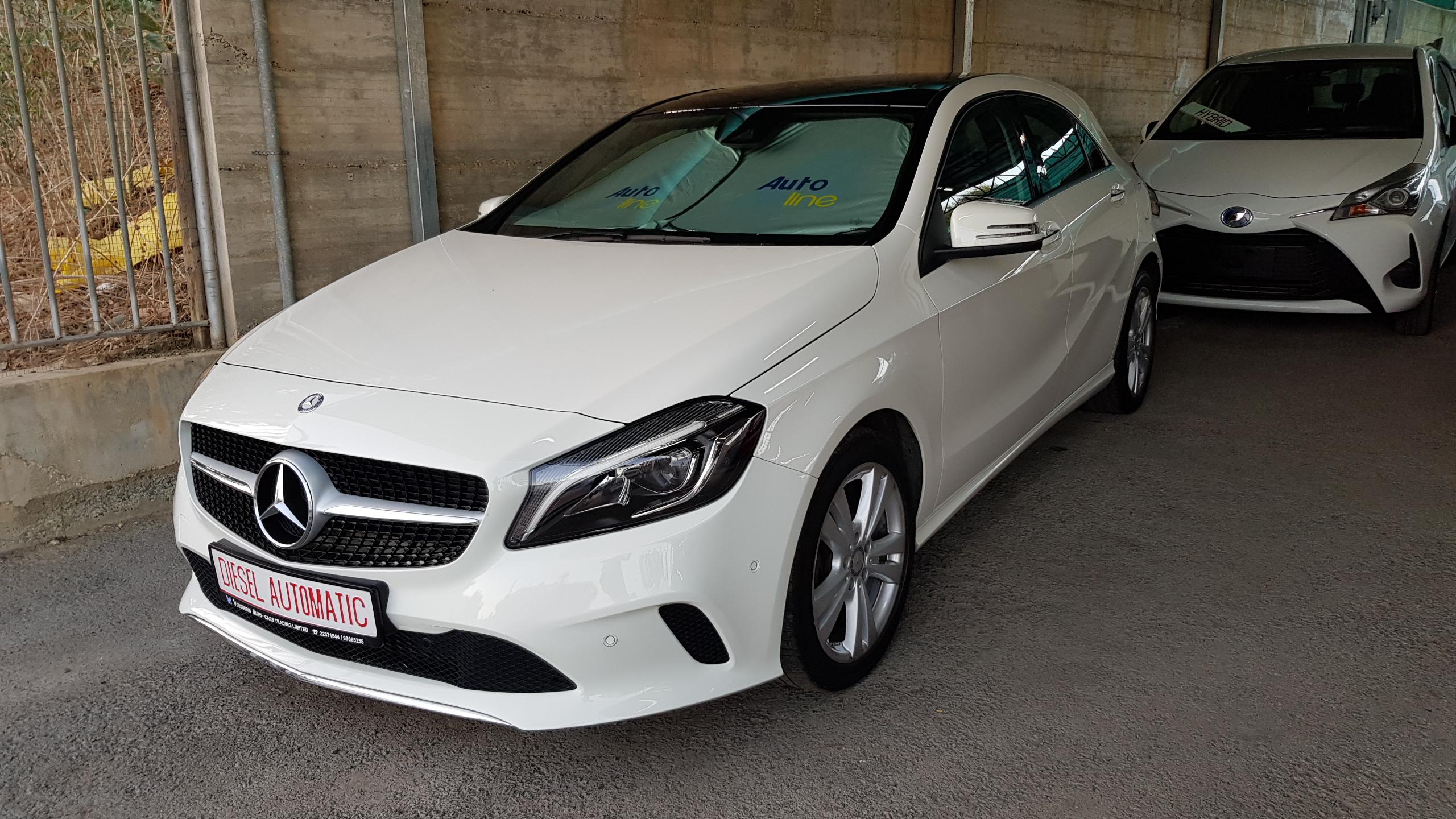 Mercedes A180d Sport White 01