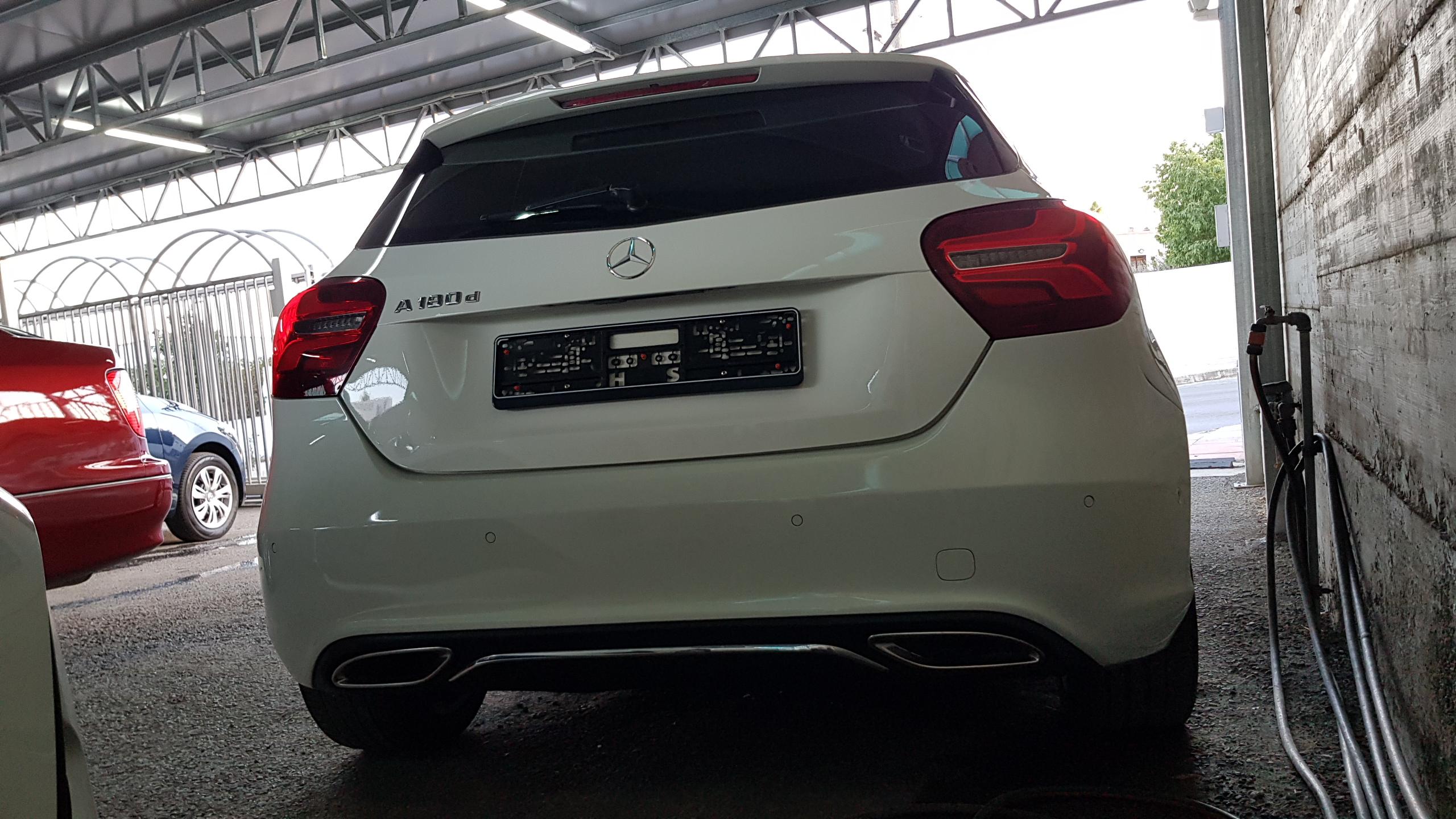 Mercedes A180d Sport White 03