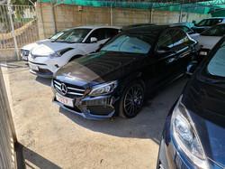 Mercedes C250d Black 01