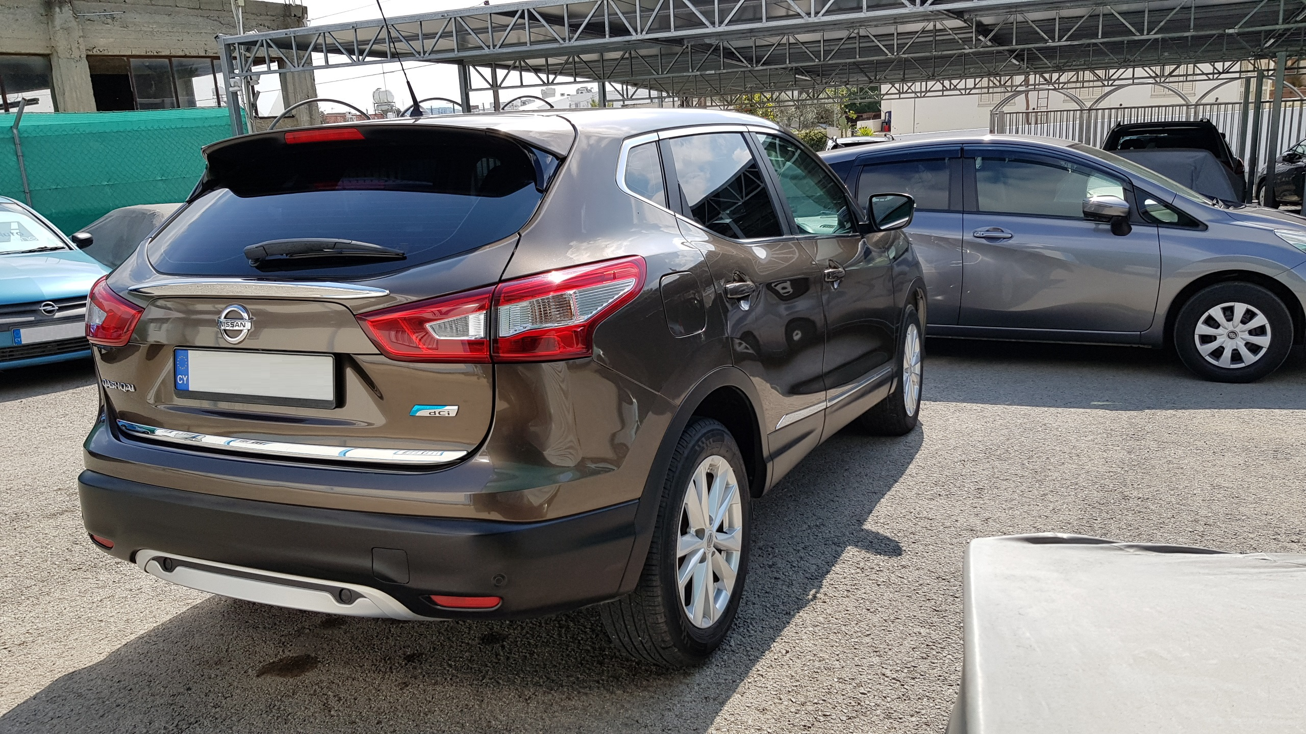 Nissan Qashqai Grey Metallic 06