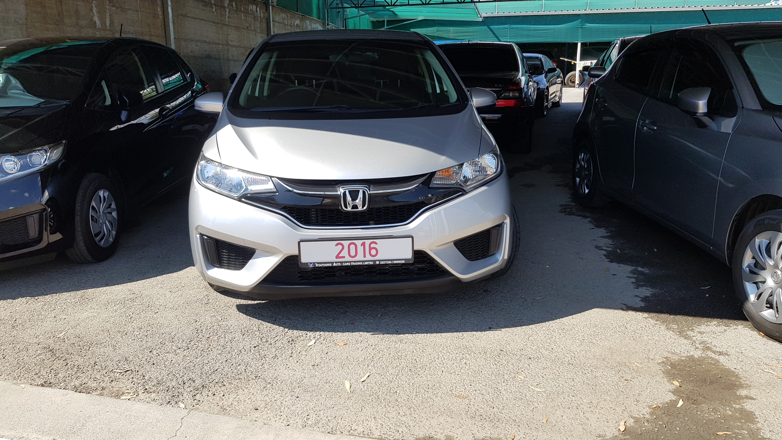 Honda Fit Silver Metallic 02