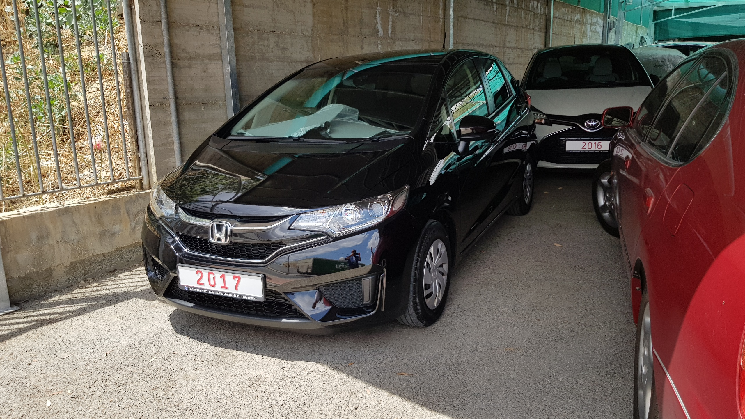 Honda Fit 2017 Black 01