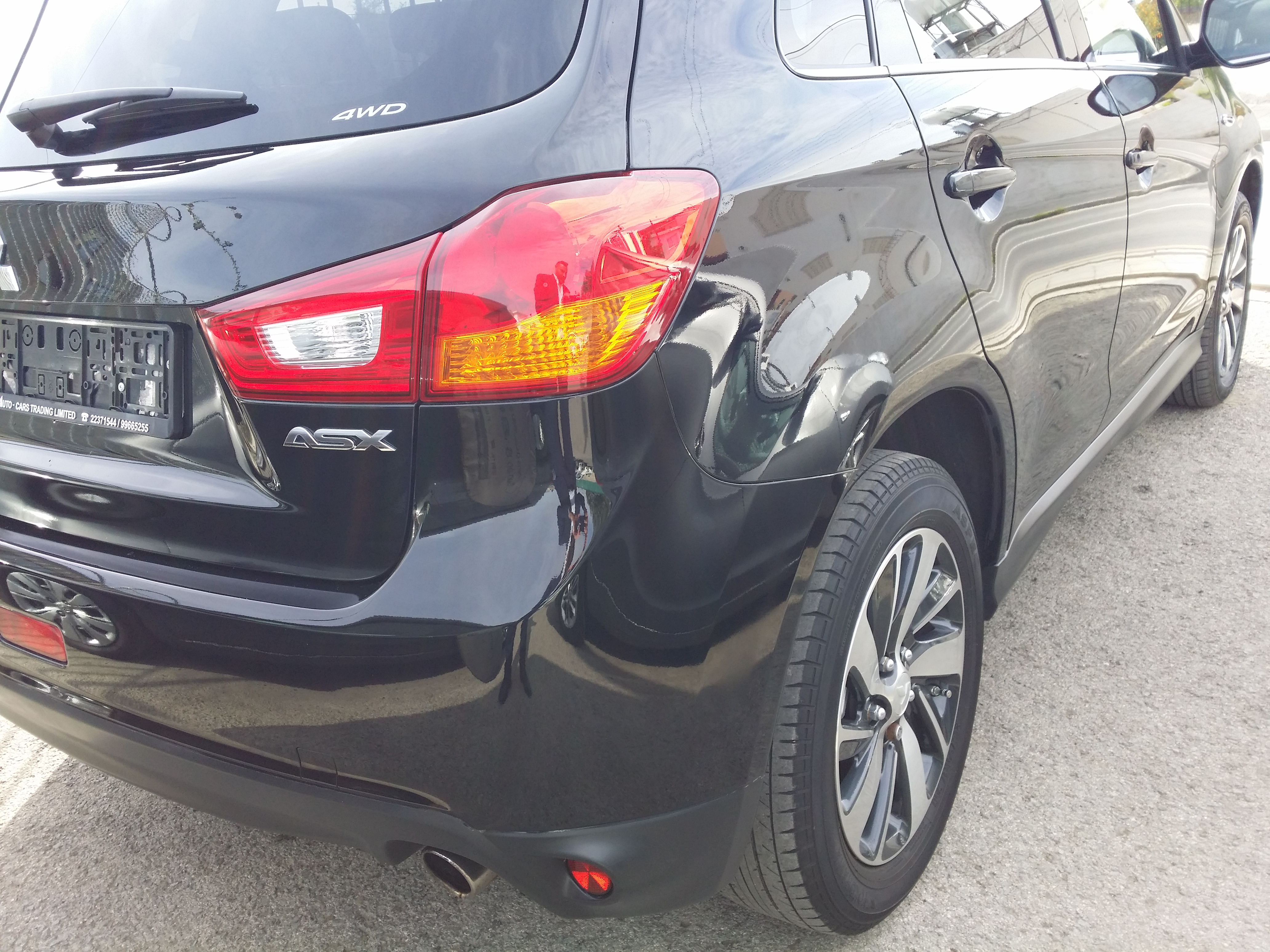 Mitsubishi ASX Black 2015