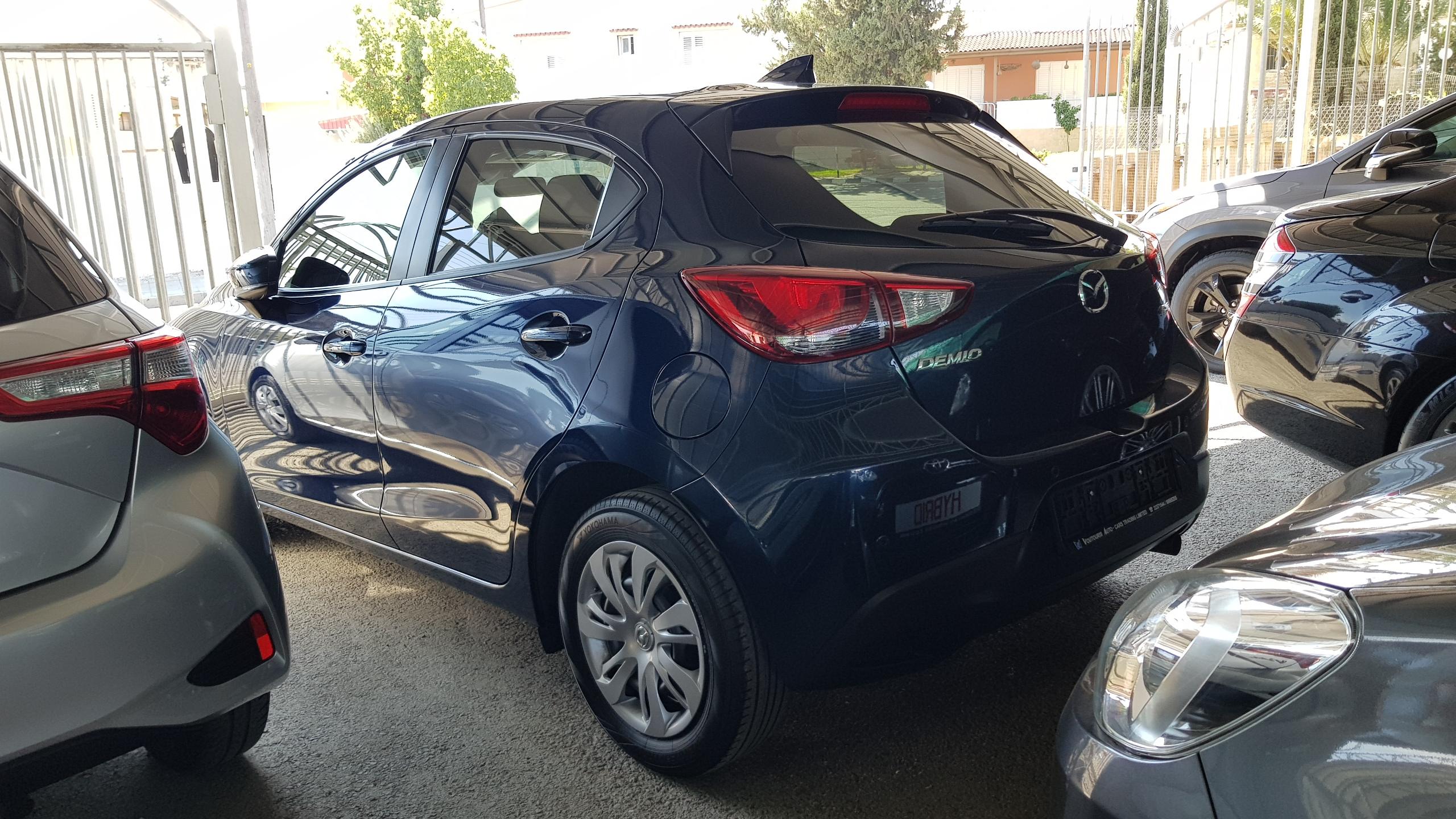 Mazda Demio 2018 Dark Blue 03