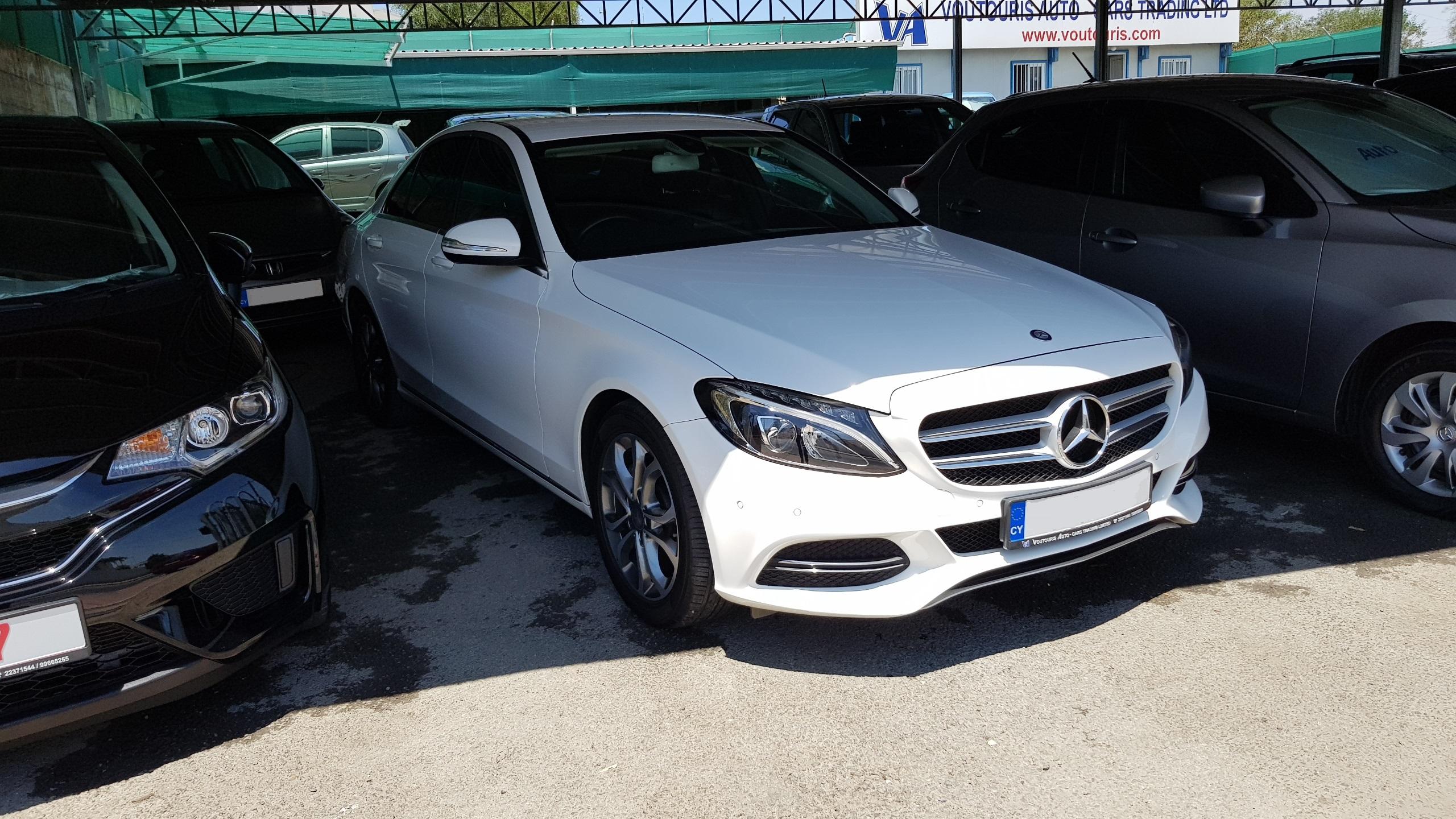 Mercedes C220 CDI White 01