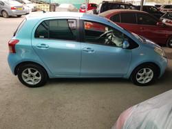 Toyota Vitz Light Blue 05