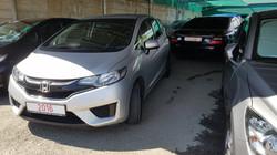 Honda Fit Silver Metallic 03