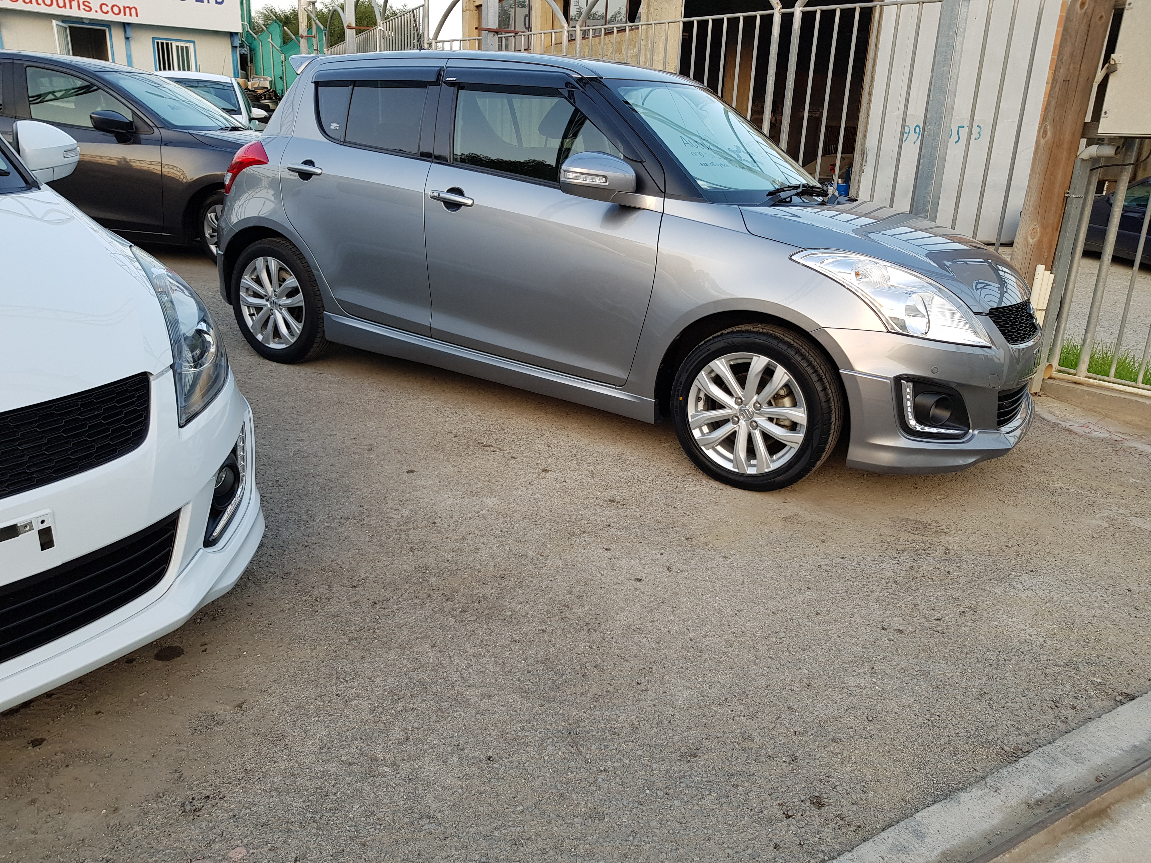 Suzuki Swift RS Light Grey