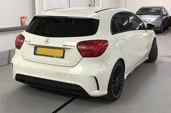 Mercedes A45 AMG White 02