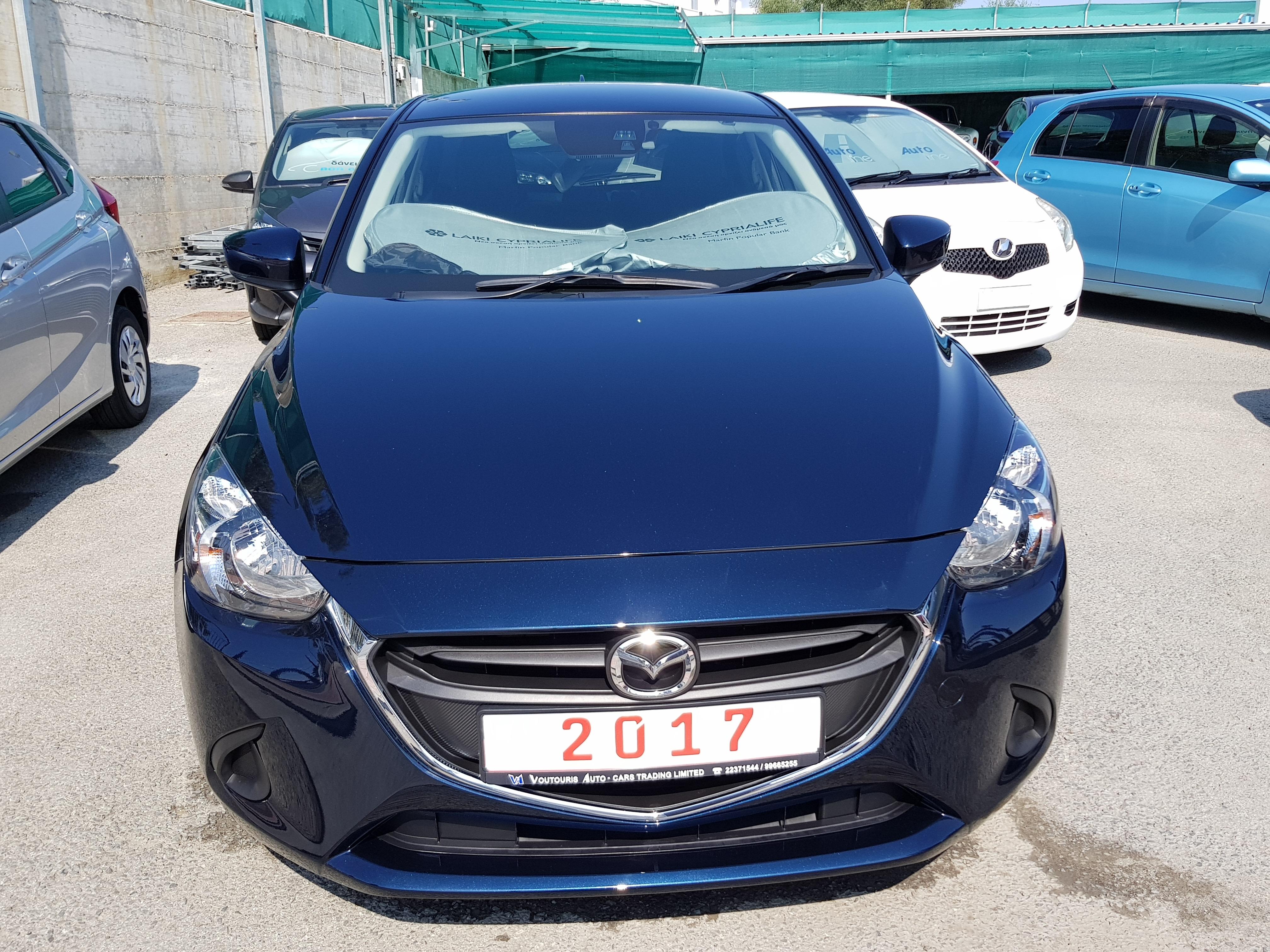 Mazda Demio Dark Blue 01