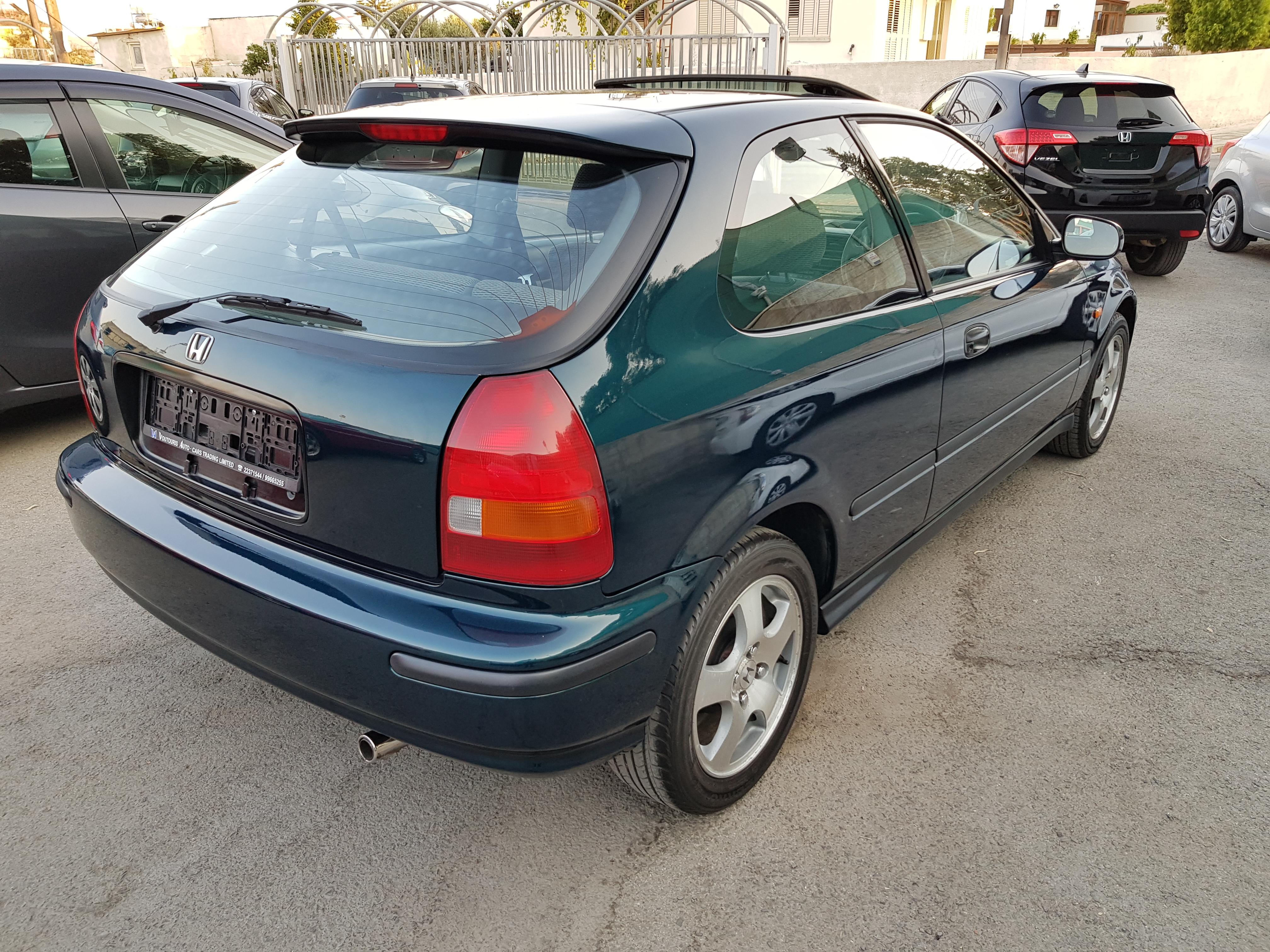 Honda Civic Dark Green 05