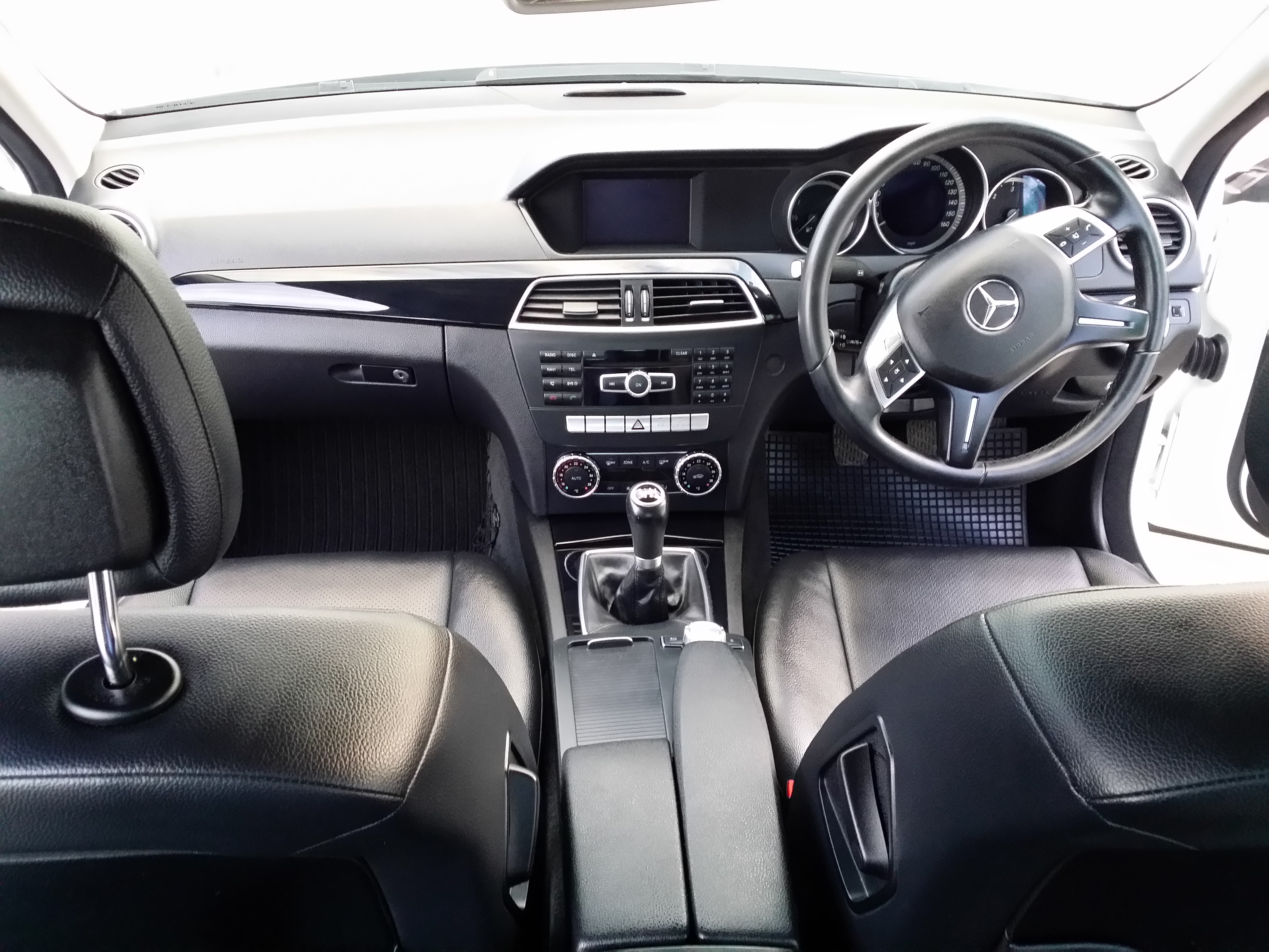 Mercedes C220 CDI 2013 White