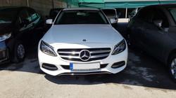 Mercedes C220 CDI White 02