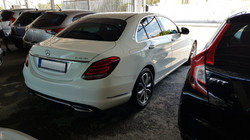 Mercedes C220 CDI White 06