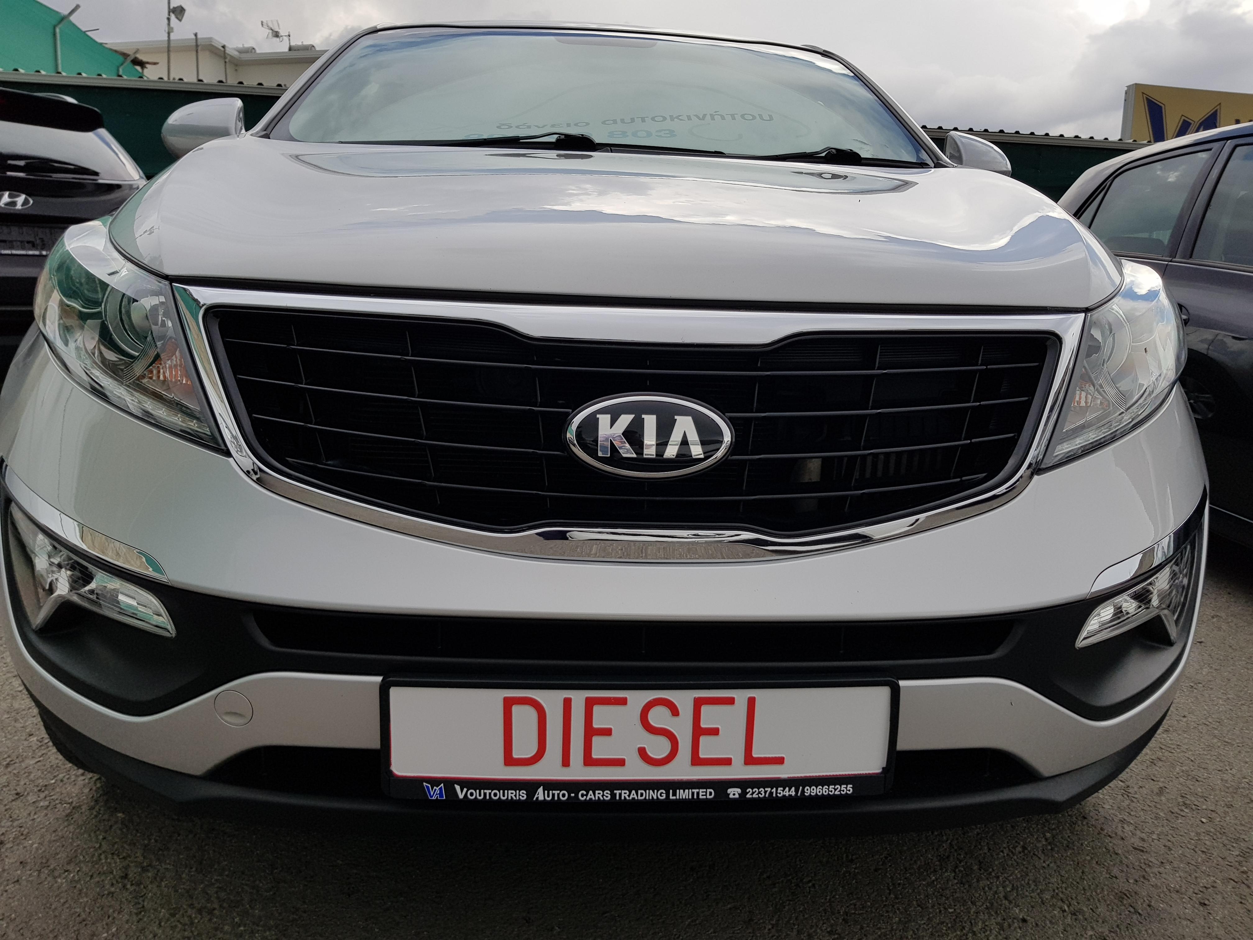 KIA Sportage Silver