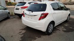 Toyota Vitz White 04