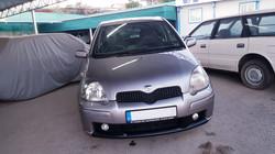 Toyota Vitz Light Grey 02