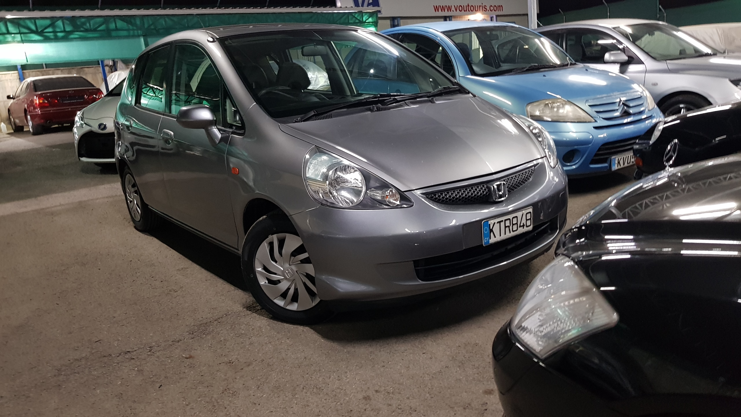 Honda Fit Light Grey 05