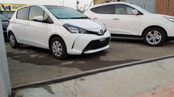 Toyota Vitz White 03