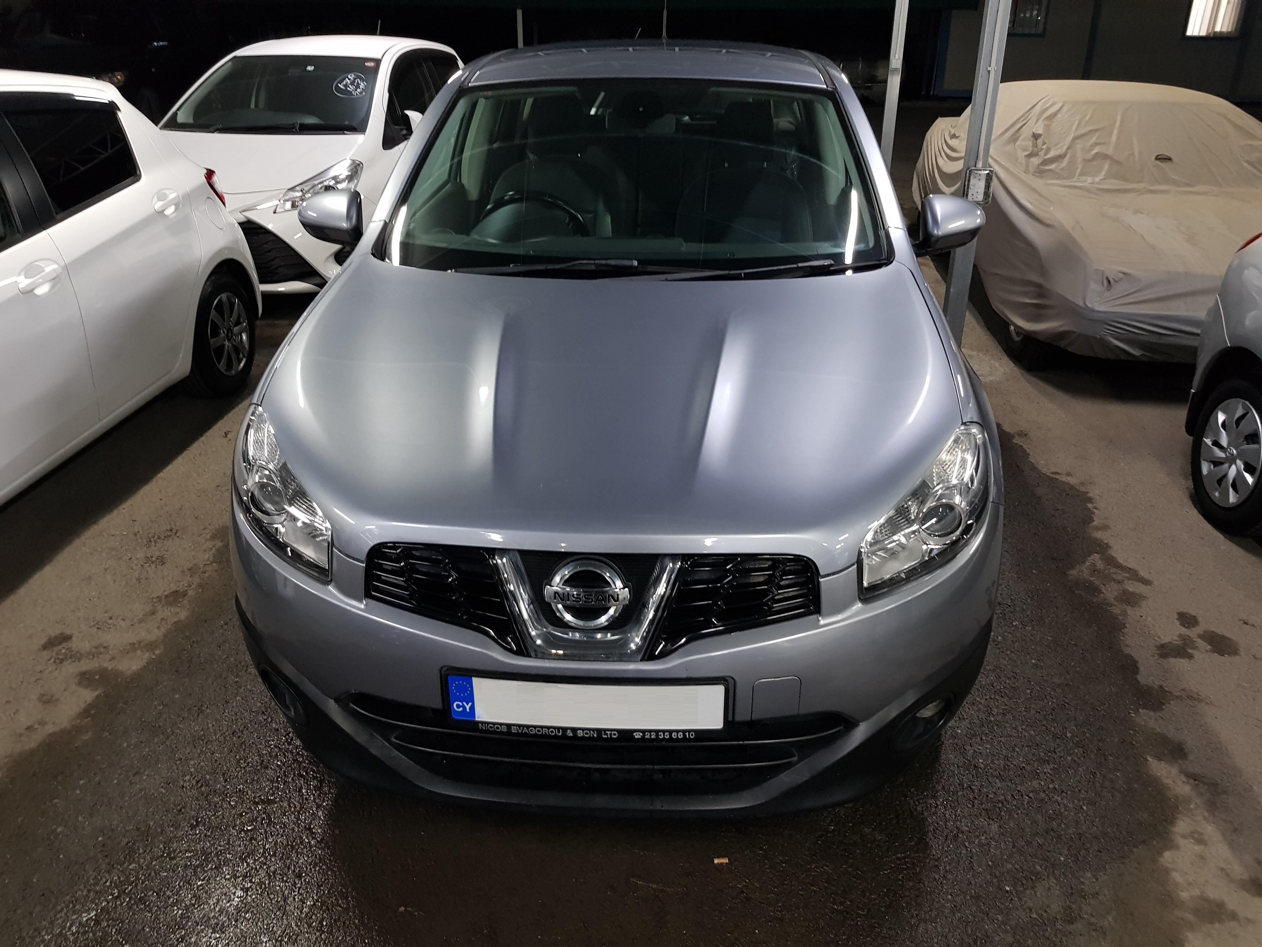 Nissan Qashqai Light Grey 02