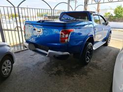 Mitsubishi L200 Double Cab Blue 04