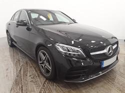 Mercedes C300 Black 01