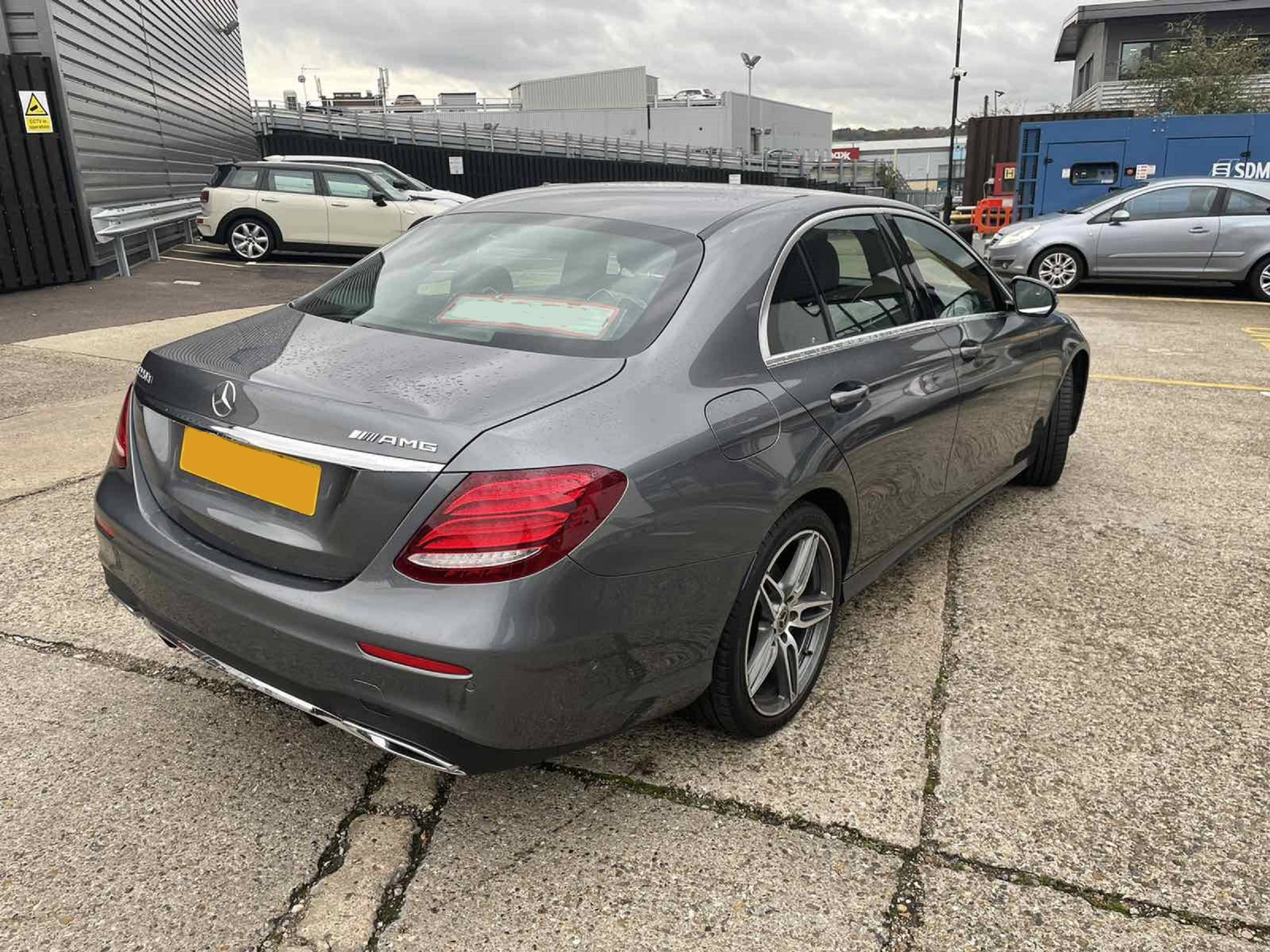 Mercedes E220d Dark Grey 03