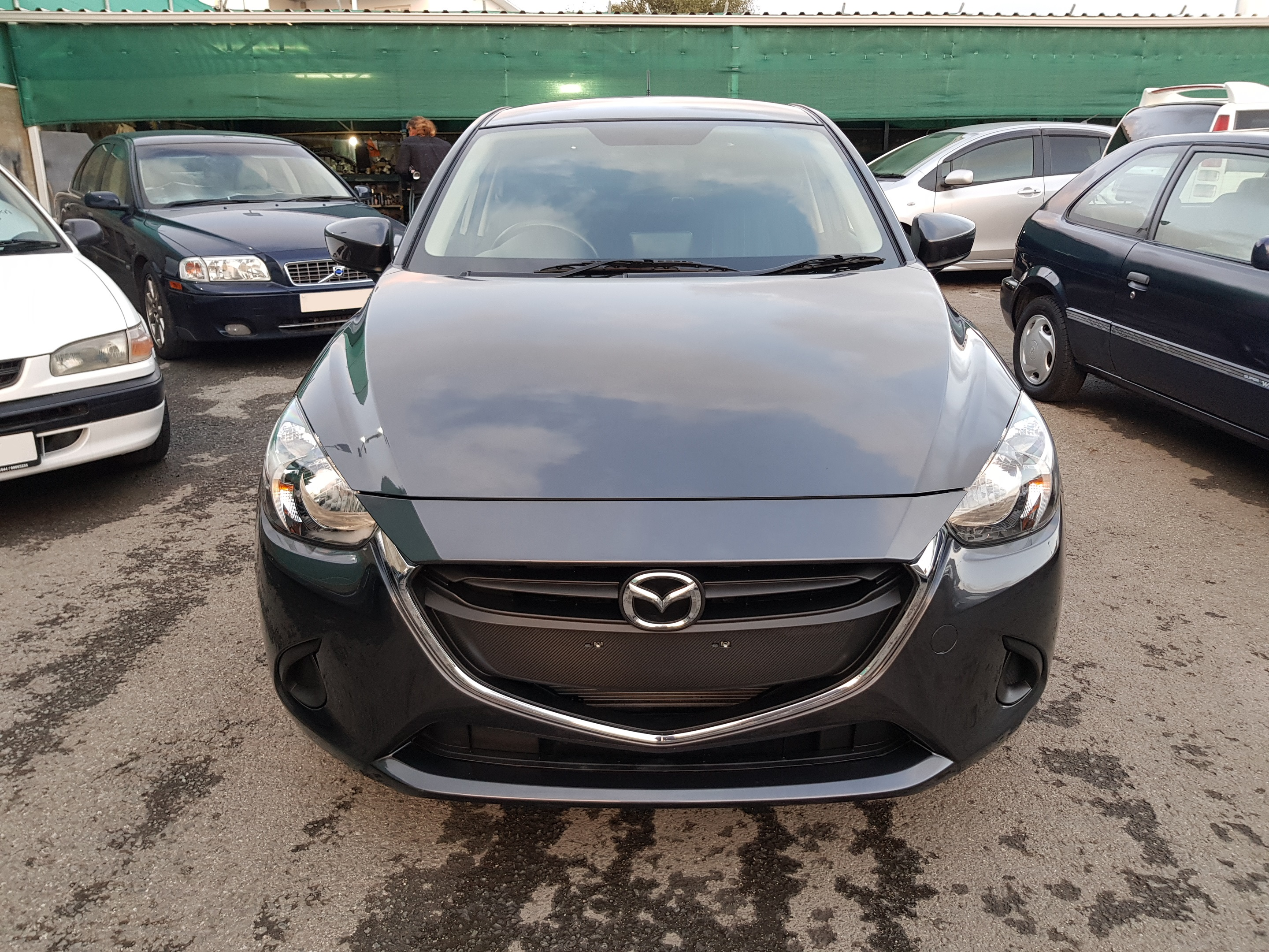 Mazda Demio 2015 Dark Grey Metallic