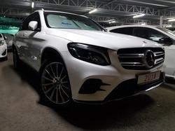Mercedes GLC250d White 01