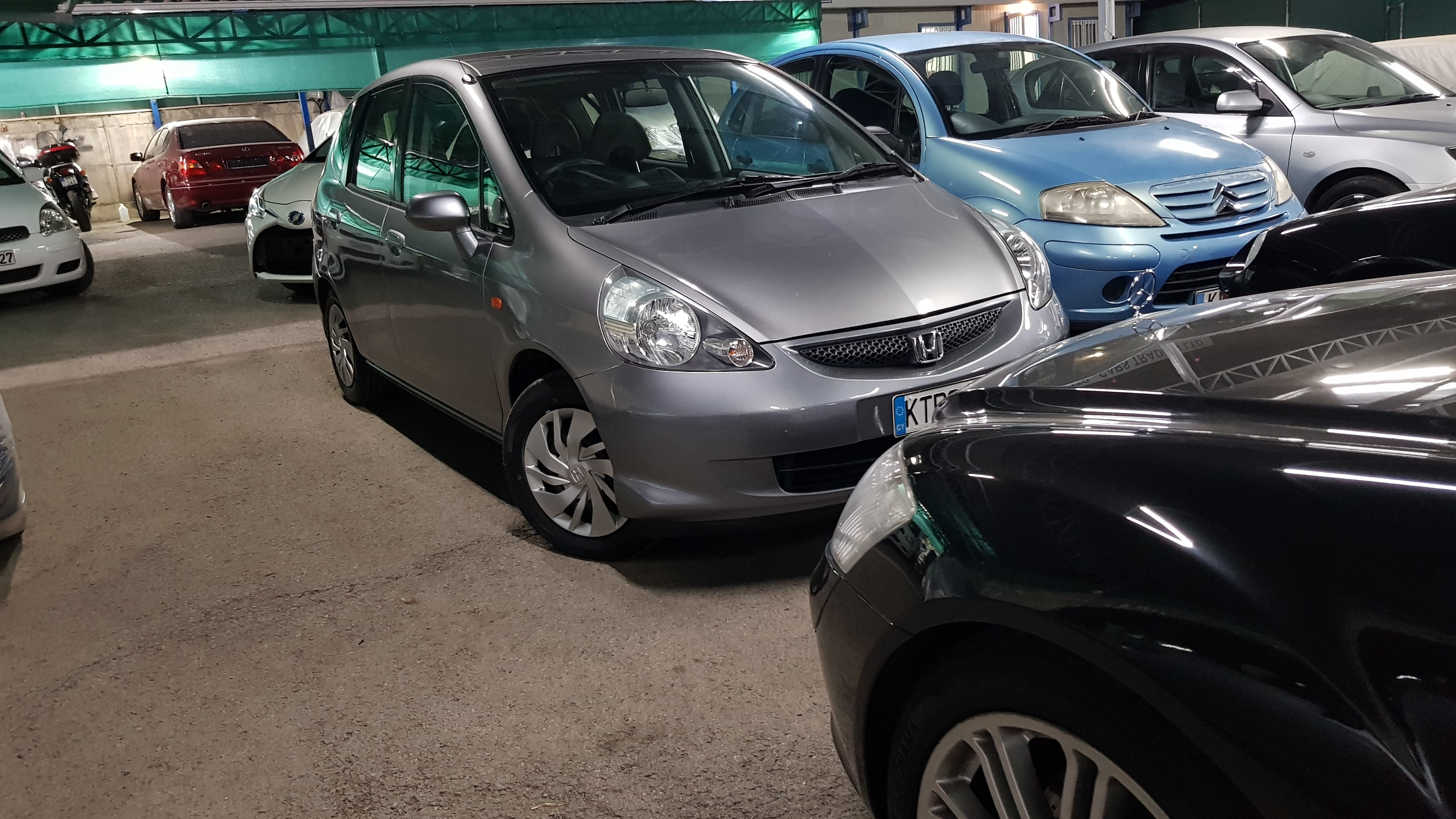 Honda Fit Light Grey 06