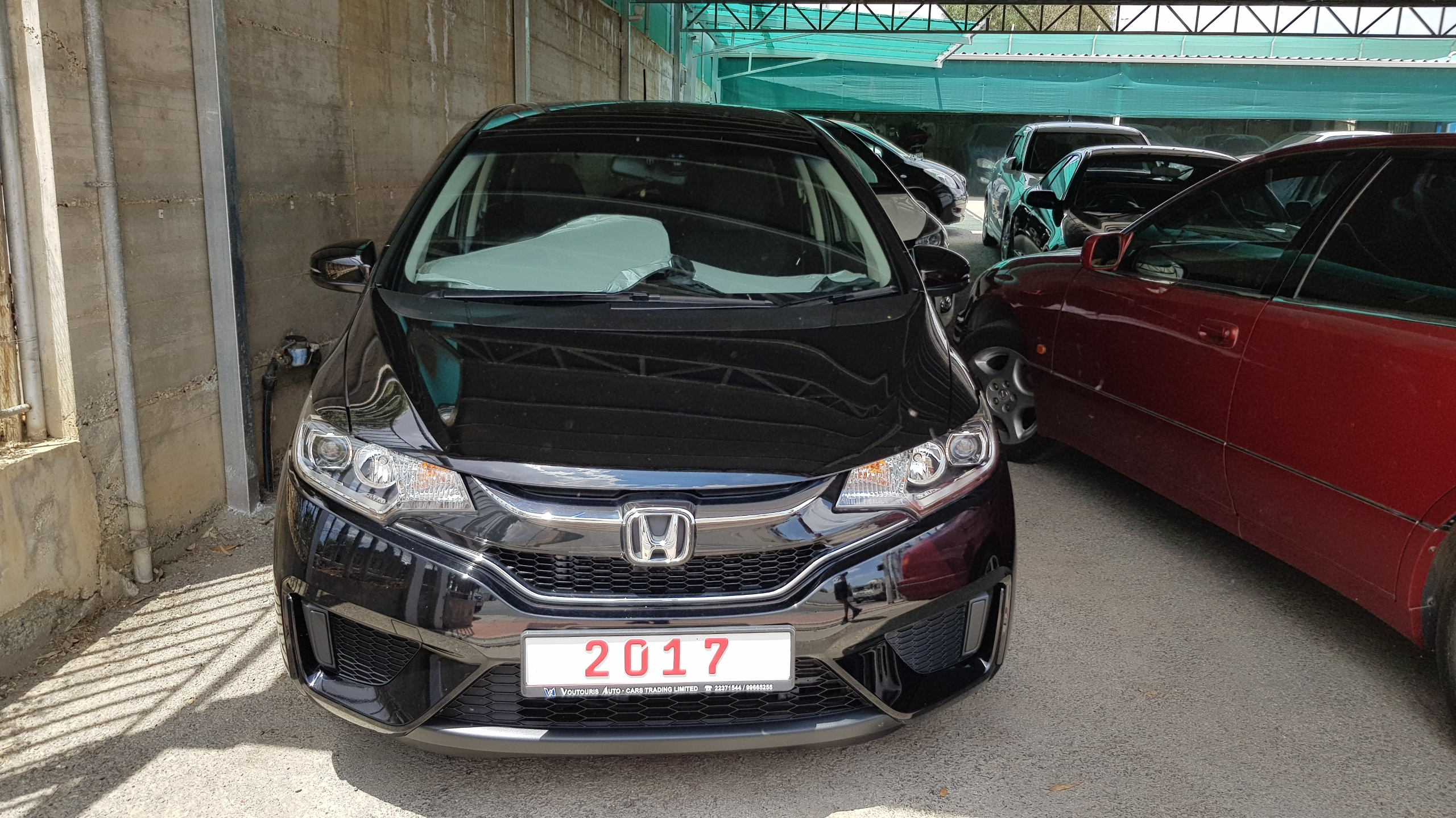 Honda Fit 2017 Black 03