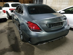 Mercedes C300 2018 Grey 05