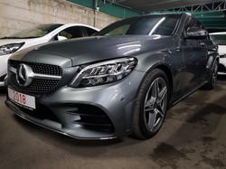 Mercedes C300 2018 Grey 01