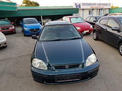 Honda Civic Dark Green 02
