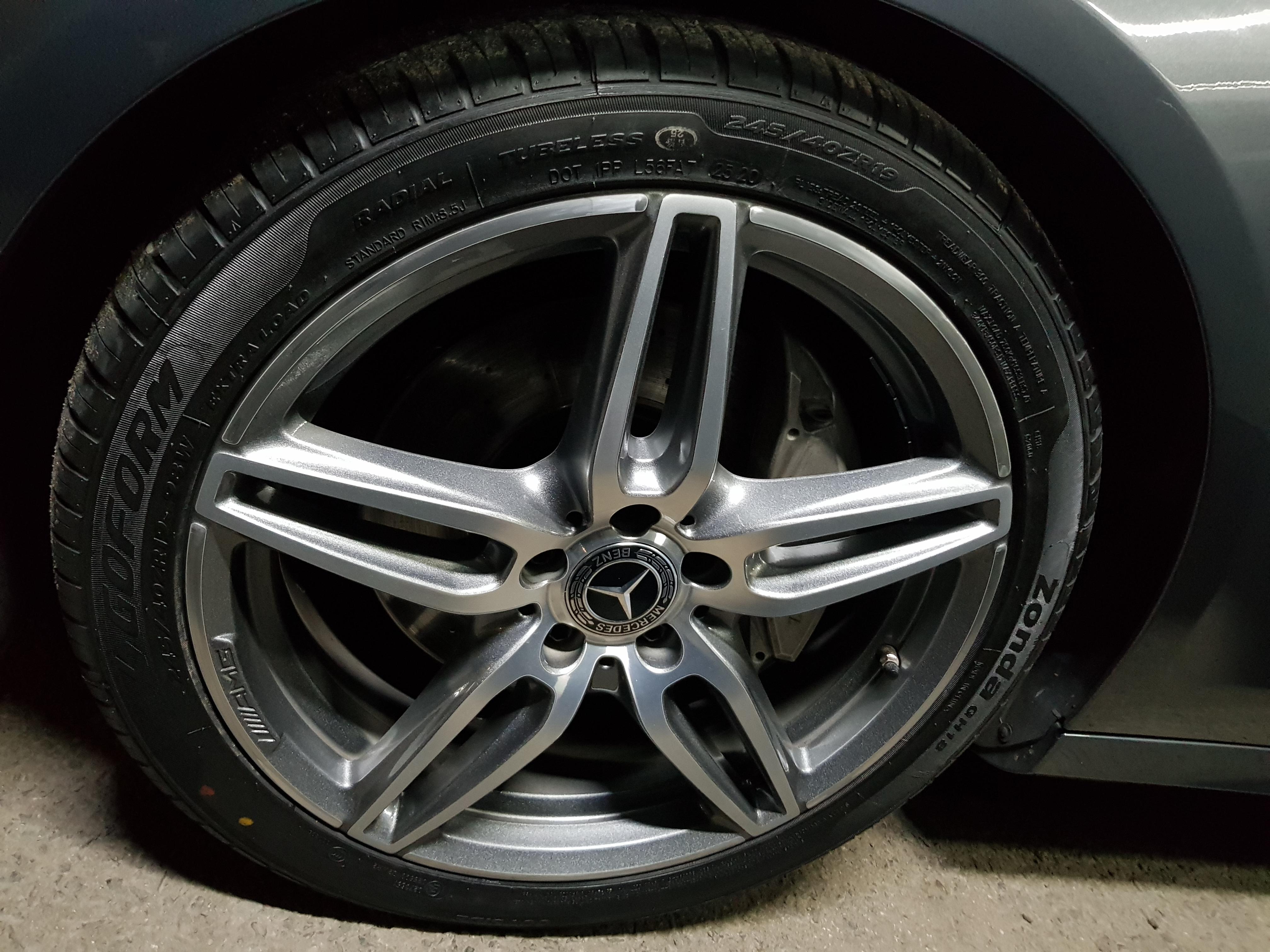 Mercedes E220d Grey 13