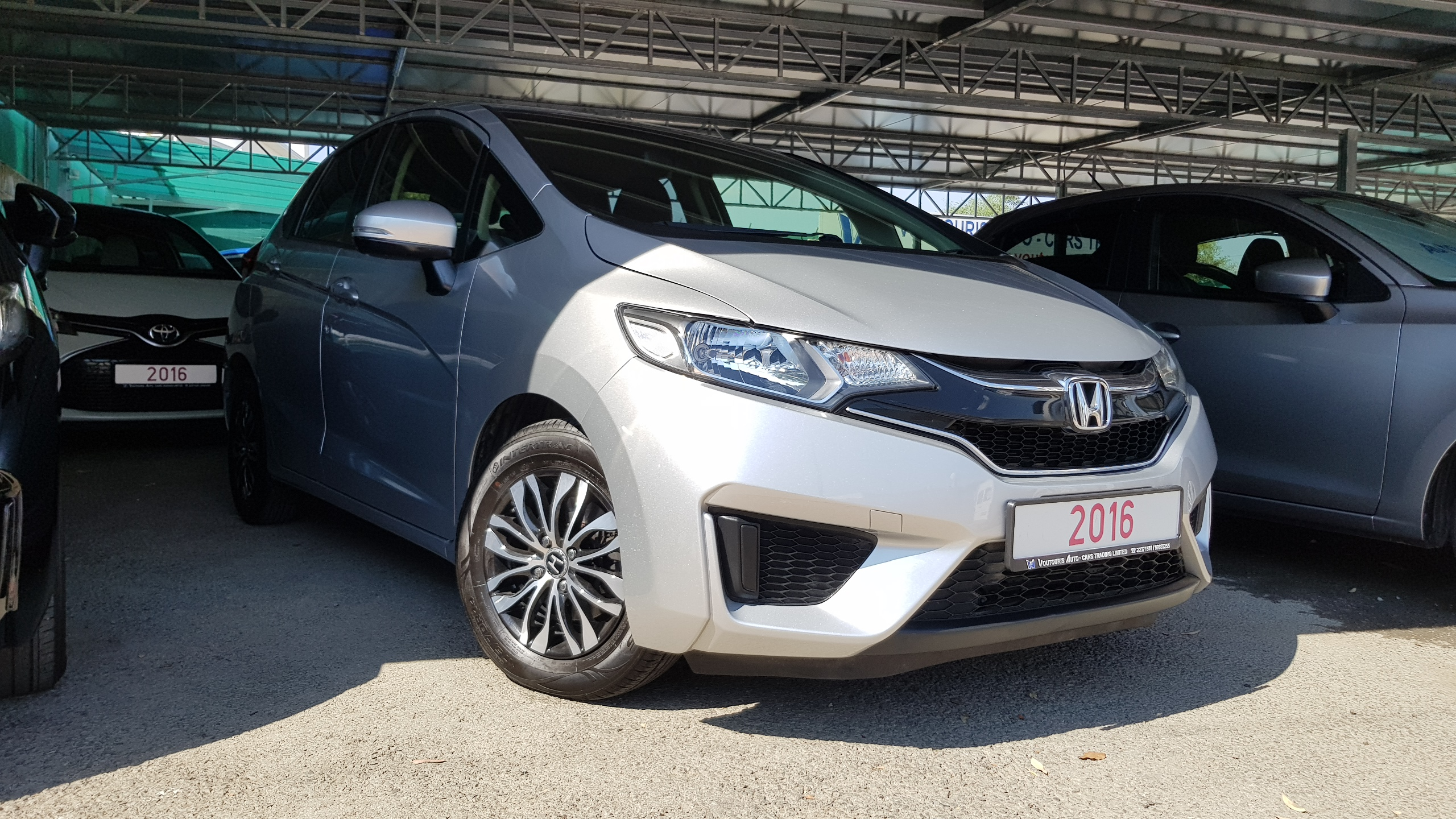 Honda Fit Silver Metallic 01